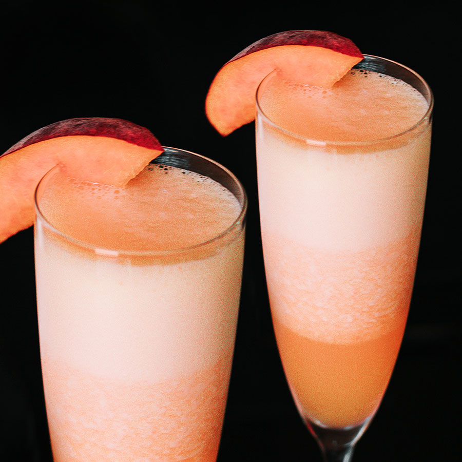 Peach Blended Bellini