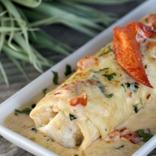 Lobster Burrito